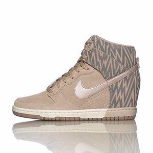 fe6de1ec12 Women Nike Sneaker Wedge Heels on Poshmark